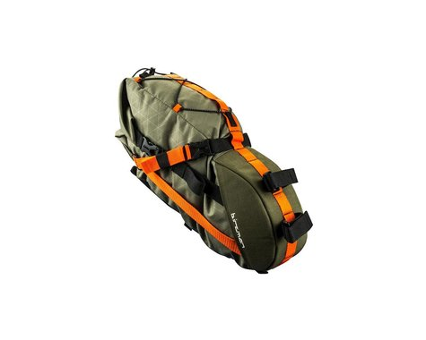 Birzman Packman Travel Saddle Pack (Green/Orange)