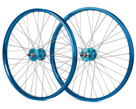 "Black Ops DW1.1 24"" Wheels (Blue/Silver/Blue) (24 x 1.75)"