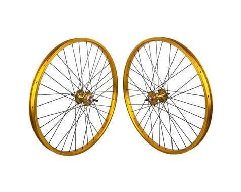 "Black Ops DW1.1 26"" Wheels (Gold/Black/Gold) (26 x 1.75)"