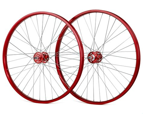 "Black Ops DW1.1 26"" Wheels (Red/Silver/Red) (26 x 1.75)"