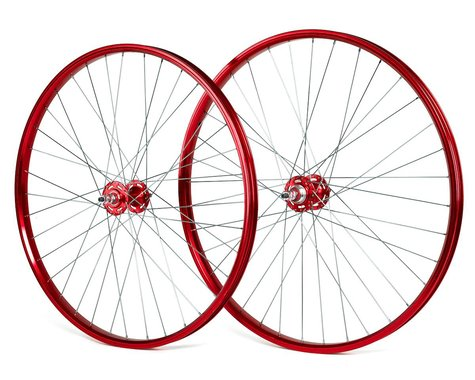 """Black Ops DW1.1 29"""" Wheels (Red/Silver/Red) (29 x 1.75)"""