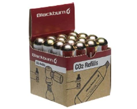 Blackburn 25g Threaded CO2 Cartridges - 20 Pack