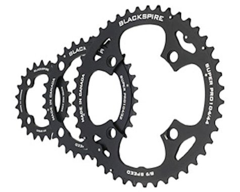 Blackspire Super Pro Chainring (Black) (104/64mm BCD) (Offset N/A) (44/32/22T)