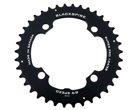 Blackspire Super Pro Chainring (Black) (104mm BCD) (Offset N/A) (38T)