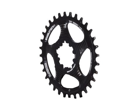 Blackspire Snaggletooth GXP Boost DM NW Chainring (Black) (3mm Offset (Boost)) (32T)