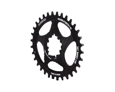 Blackspire Snaggletooth GXP Boost DM Oval NW Chainring (Black) (3mm Offset (Boost)) (32T)