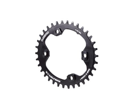 Blackspire Snaggletooth Oval NW Chainring (Black) (XT) (96mm BCD) (34T)