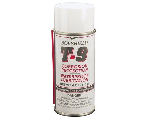 Boeshield T9 Aerosol Chain Lube and Rust Inhibitor: 4oz