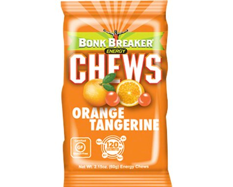 Bonk Breaker Energy Chews (Tangerine Orange) (10 2.1oz Packets)