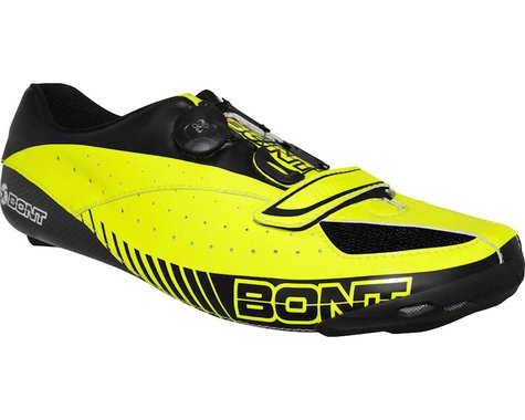 Bont Blitz Cycling Road Shoe (Neon Yellow/Black)