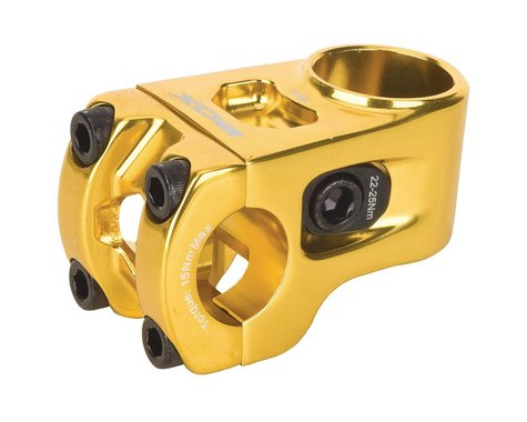 """Box Two 1"""" Center Clamp Stem (Gold)"""
