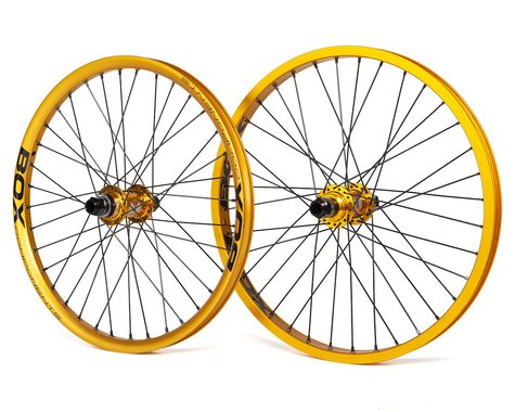 Box Two Alloy BMX Wheelset (Gold) (20 x 1.75)