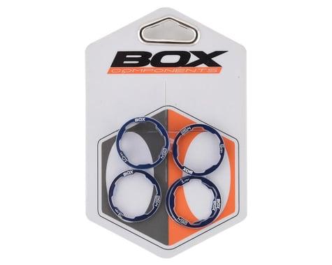 "Box Zero Stem Spacer Kit (Blue) (5) (1"")"