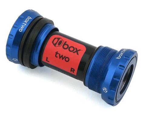 Box Two Alloy External Sealed Bearing Bottom Bracket (24mm) (Blue)