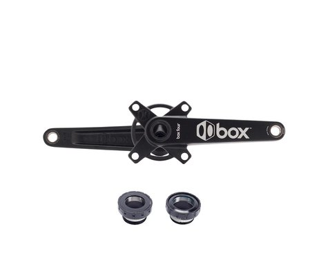 Box Components Four 2-Piece Crankset (24mm Spindle) (Black) (165mm)
