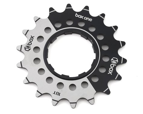 Box One Cog Single Speed Alloy Cassette (Black) (3/32) (18T)