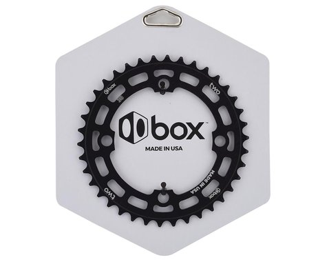 Box Two 4-Bolt Chainring (Black) (38T)