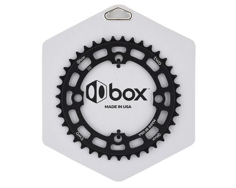 Box Two 4-Bolt Chainring (Black) (39T)
