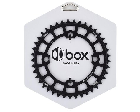Box Two 4-Bolt Chainring (Black) (41T)