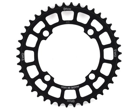 Box Two 4-Bolt Chainring (Black) (42T)
