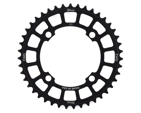 Box Components Chainring (Black) (104mm BCD) (43T)