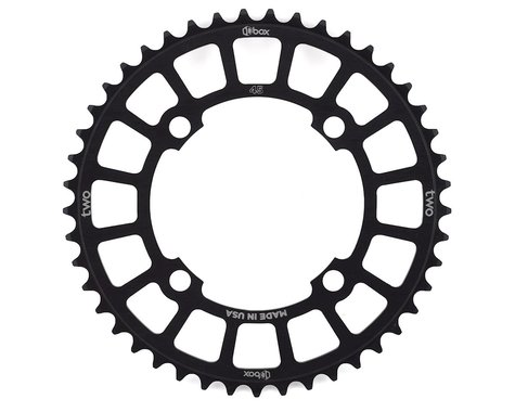Box Two 4-Bolt Chainring (Black) (45T)