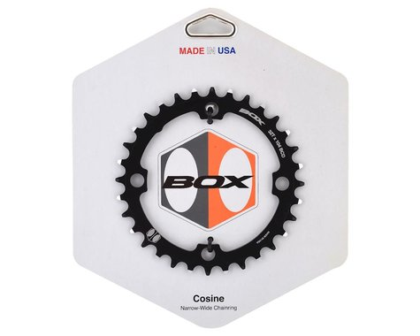 Box Components Cosine Narrow-Wide Chainring (Black) (104mm BCD) (32T)