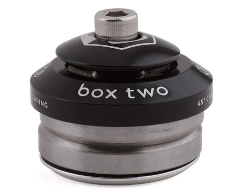 "Box Two Sealed Integrated Headset (Black) (1"")"