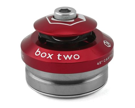 """Box Two Sealed Integrated Headset (Red) (1"""")"""