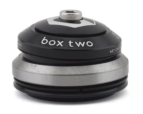 """Box Two Alloy Sealed Integrated Tapered Headset (1.5"""") (Black)"""