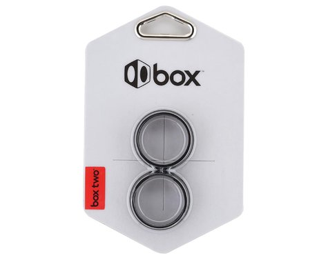 "Box Two Headset Fork Adaptor (1"" - 1-1/8"") (Black)"