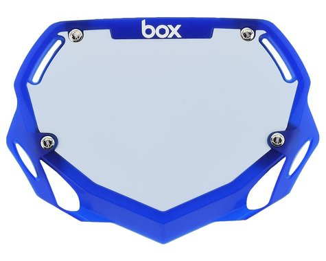 Box Two Number Plate (Translucent Blue) (S)