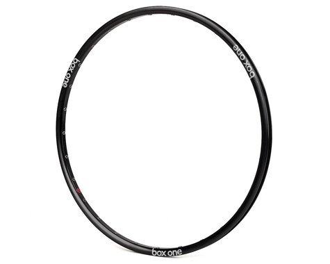 Box One Front Rim (Black) (Front/Brakeless) (20 x 1-1/8)