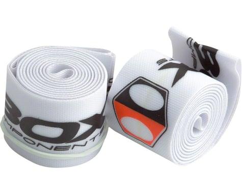 "Box Components Radian Rim Straps (White) (20"") (2) (24mm)"