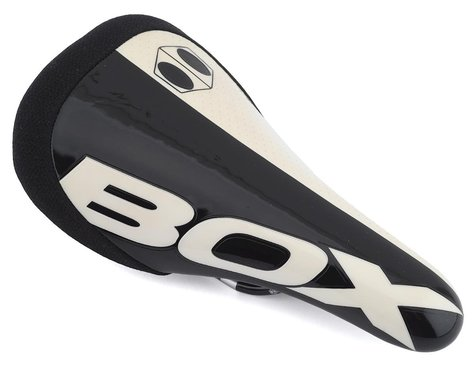 Box Components BMX Shift Saddle (Black) (Chromoly Rails)