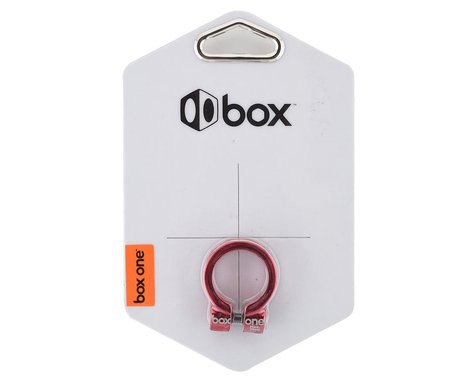 Box Helix Fixed Seat Clamp (Red) (25.4mm)