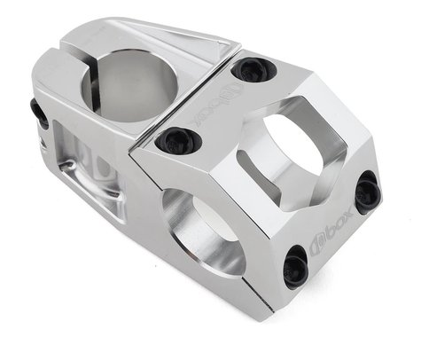 "Box Delta Top Load Stem (Silver) (1-1/8"") (31.8mm Clamp) (48mm)"
