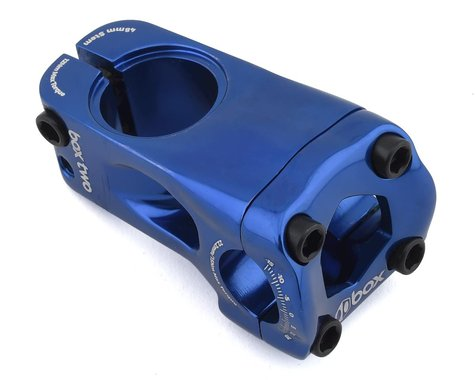 "Box Two Front Load Stem (1-1/8"") (48mm) (Blue)"