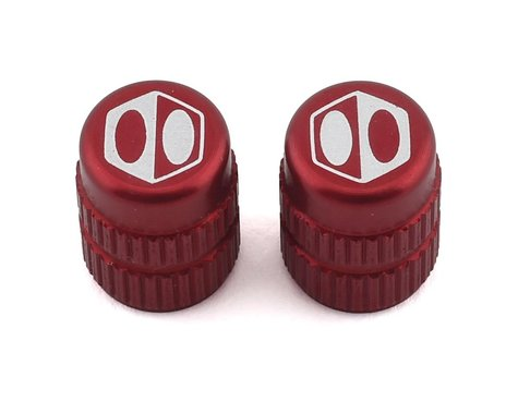 Box Schrader Valve Cap (Red)