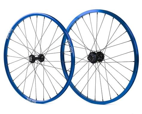 Box Three BMX Wheelset (20 x 1-1/8) (Blue)