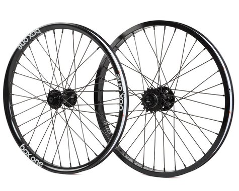 "Box Three BMX Wheelset with Rear Disc Hub (406mm) (20"") (Black)"