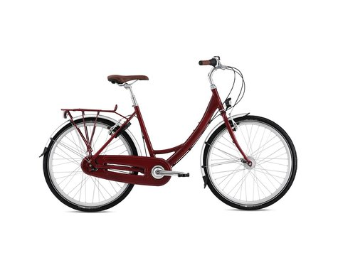Breezer Uptown 8 LS Women's City Bike - 2016 (Red)