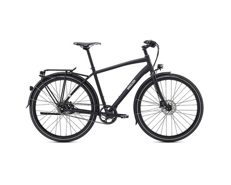 Breezer Beltway 11+ City Bike -- 2017 Performance Exclusive (Black / Green)
