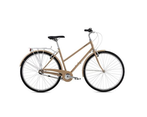 Breezer Downtown 3 ST City Bike - 2016 (Tan) (54)