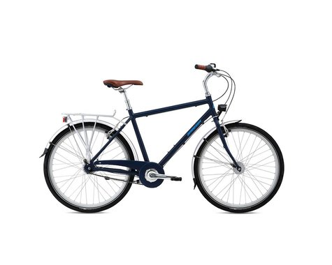 Breezer Uptown 7 City Bike - 2016 (Blue) (50)