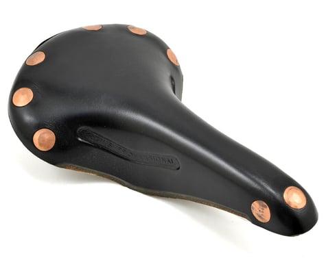Brooks Team Pro Saddle (Black) (Chrome Steel Rails)