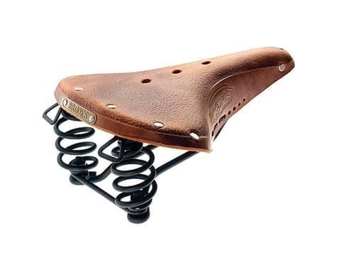 Brooks B67 Pre-Aged Men's Saddle (Tan)