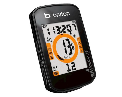 SCRATCH & DENT: Bryton Rider 15E GPS (Black)
