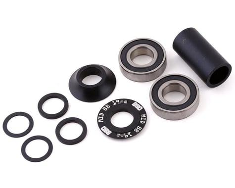 BSD Substance Mid Bottom Bracket Kit (Black) (19mm)