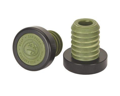 BSD M-Cap Bar Ends (Pair) (Surplus Green)